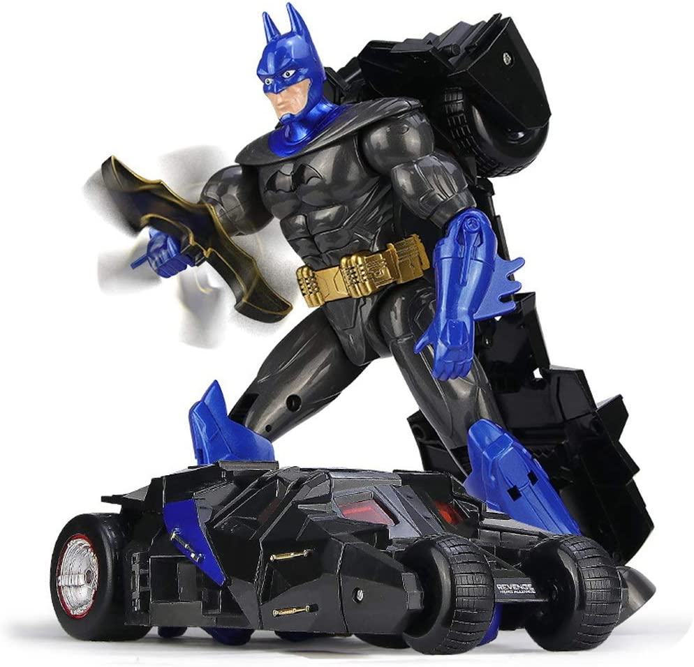 MXueei Child Deformation Directly managed store Batman Car Baltimore Mall Model High-end Boy Toy Robot