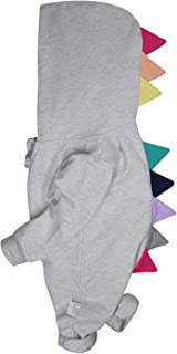 Baby Dinosaurs Romper, Rabbit Jumpsuits Unicorns Hoodie Zip Fleeze Outfit, One Piece Playwears for Toddler Girls Boys