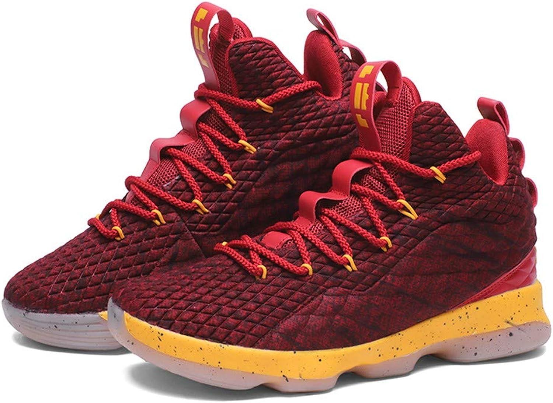 IDNG Basketballschuhe Basketball-Schuhe Schnüren Sich Stoßfeste Athletische   Outdoor-Sportschuhe B07MTBXZ6W  Neuer Stil