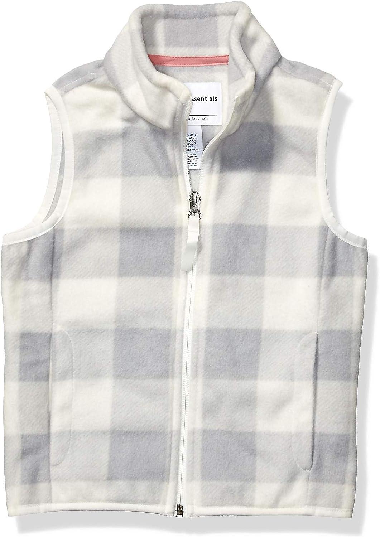 Ranking integrated 1st place Amazon Essentials Girls' Fleece Latest item Polar Vest