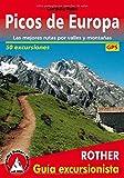 Picos de Europa (spanische Ausgabe): Las mejores rutas por valles y montañas. 50 excursiones. Con tracks de GPS (Rother Guía excursionista)