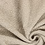 Frottee – sand — Meterware ab 0,5m — STANDARD 100 by