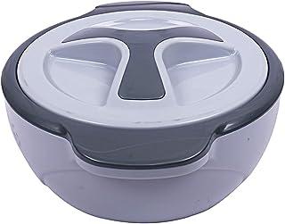 Kuber Industries Insulated Marigold Casserole/Hotpot 1500 Ml (Grey) -CTLTC12573