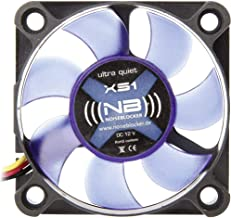 Noiseblocker NB-BlackSilent Fan XS-1 50mm x 10mm Ultra Silent Fan, 3000rpm, 3 pin, 16 dBA, 6.77 CFM