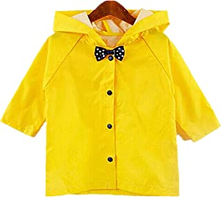 Toddler Halloween Costume Button Down Hooded Kids Raincoat Girls Boys Halloween Party Rainwear Outdoor Cloth