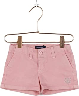 Conguitos Sport Pantalones Cortos, Rosa Claro, Normal para Niñas