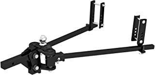 CURT 17501 TruTrack Weight Distribution Hitch with Sway Control, Up to 15K, 2-in Shank, 2-5/16-Inch Ball, Black