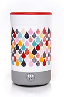 Happy Wax Signature Wax Melt Warmer 2.0 for Scented Wax Melts, Cubes, Tarts – Electric Wax Melter with Automatic Timer, Patent Pending Silicone Top (Teardrop)