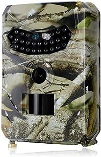 Mini Trail Wildlife Camera cámara de Caza 12MP 1080 con Movimiento infrarrojo Activado cámara de Juego a Prueba de Agua con LED IR sin Brillo/Tiempo de activación 0.5S
