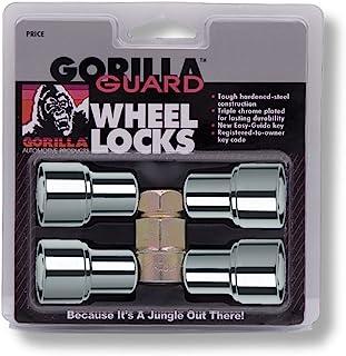Gorilla Automotive 63621 Standard Mag Gorilla Guard Locks (12mm x 1.25 Thread Size) - Pack of 4