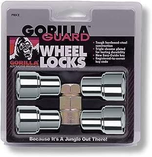 Gorilla Automotive 63631 Standard Mag Gorilla Guard Locks (12mm x 1.50 Thread Size) - Pack of 4