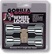 Gorilla Automotive 63631 Standard Mag Gorilla Guard Locks (12mm x 1.50 Thread Size) - Pack of 4