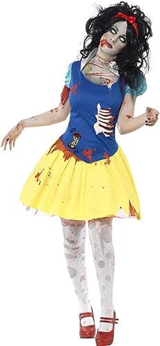 protección post-venta Disfraz de de de blancoanieves para halloween zombi terror princesa  descuento de ventas en línea