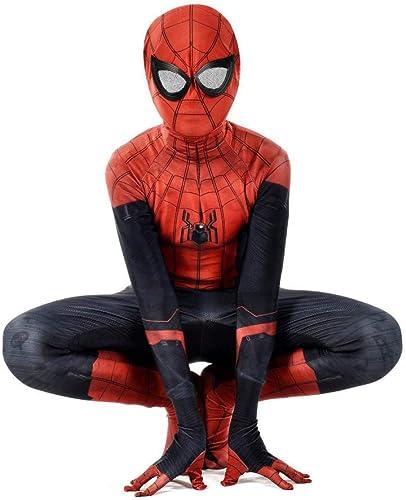 genuina alta calidad YXIAOL Traje De Cosplay De Anime De Spiderman, Traje Traje Traje De Cosplay De La Expedición De Héroe, Disfraz De Fiesta De Carnaval De Halloween, Niños Adultos  el más barato