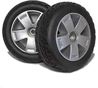 CW844 Pride Victory 10 Four Wheel Scooter Front Wheels and Tire Replacement, Sold in Pairs