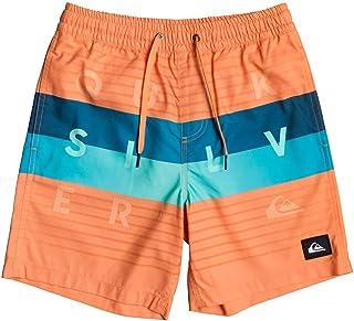 """Quiksilver Word Block 15"""" SRT Pantalones Cortos De Natación Niños"""