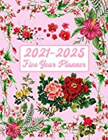 2021-2025 Five Year Planner: Plan and Organize your Time - 60 Months Calendar - Calendar with Holidays - 5 Years Daily Planner - Appointment Calendar - Agenda Logbook