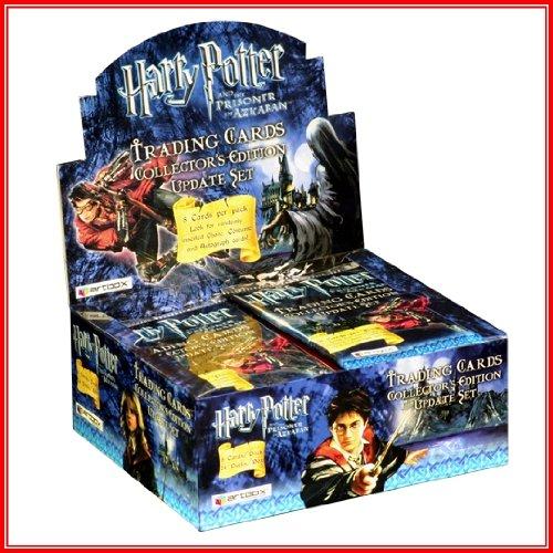 Harry Potter y el prisionero de Azkaban Trading Cards–Tarjetas coleccionistas edición actualización Set (24paquetes) , color/modelo surtido