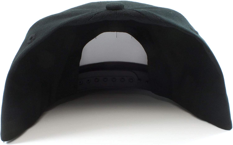 Old School M Rotor - Baseball Cap - Flat Brim Hat (Red)