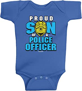 Baby Boys' Proud Son of a Police Officer Infant Bodysuit