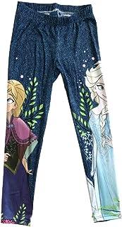 033bc0962069b Disney Frozen Princess Elsa and Anna Beautiful Girl's Legging,Yoga  Pants,Tights for Age