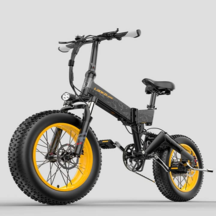 Bicicletta elettrica mountain bike bicicletta pieghevole bici da neve bicicletta elettrica per adulti?brogtorl B08ZN3GK6M