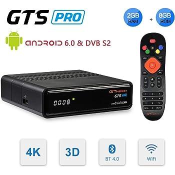 GT MEDIA GTS Pro DVB-S2 Decodificador Satélite Receptor de TV ...