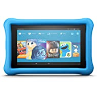 """Fire 7 Kids Edition Tablet, 7"""" Display, 16 GB, Blue Kid-Proof Case - (Previous Generation - 7th)"""