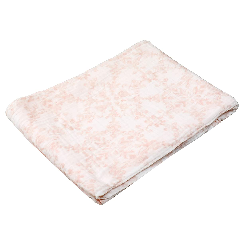 額恐怖症神社西川(Nishikawa) 掛け布団カバー ピンク シングル 綿100% くしゅくしゅ やわらか5重ガーゼ マイモデル PI09000058P