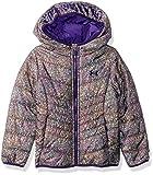 Under Armour Baby Girls' Big ColdGear Prime Puffer Jacket, Sparkling Glitter Purple, Large (12/14)