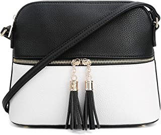 Best black and white crossbody Reviews