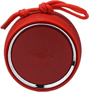 $94 » LKYBOA Bluetooth Speaker V5.0 Wireless Speakers 3D Stereo Outdoor Home Small Portable Speaker (Color : Red)