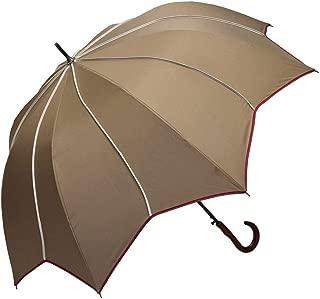 雨傘 大判 スター モチーフ 長傘 アンブレラ 深張り 濡れにくい