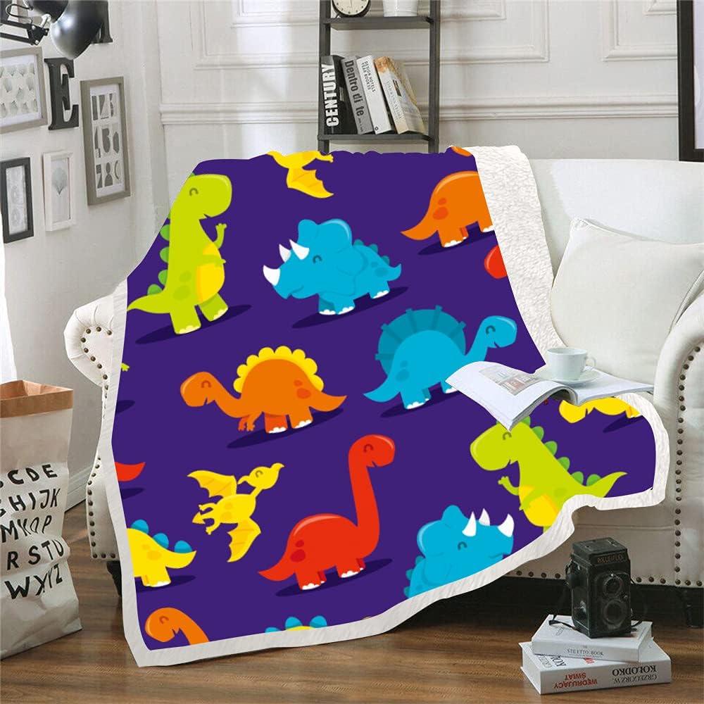 Sales for sale Cute Dinosaur price Blanket for Boys Soft Sh Funny Kids Super