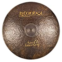 """Istanbul Mehmet Cymbals Signature Series 61st Anniversary Vintage Ride Sizzle Cymbals MT-AN-VRSZ (20"""")"""