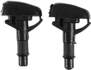 2Pcs Car Front Windshield Wiper Washer Spray Nozzle For Mitsubishi Pajero V31 V33 V73