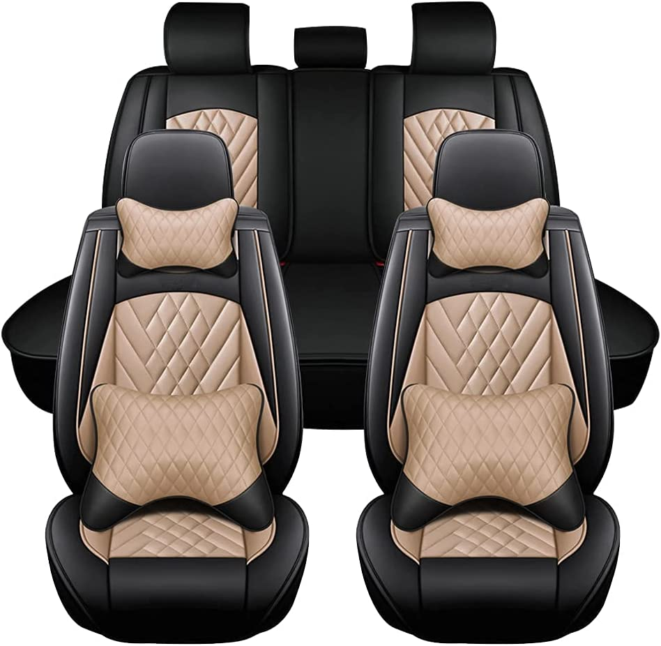 Online limited product Super PDR Full Set Car Universal Covers Leather Manufacturer OFFicial shop Seat Luxury