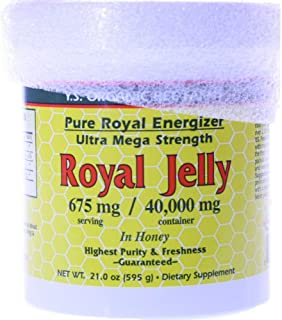 Ys Organic, Pure Royal Energizer: 40,000 Mg Fre 21.0 Oz. Paste
