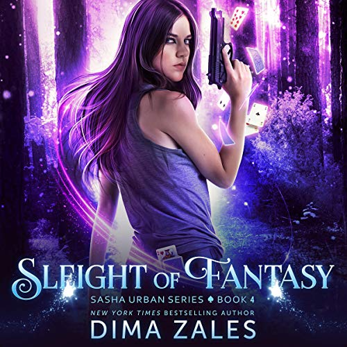 Sleight of Fantasy audiobook cover art