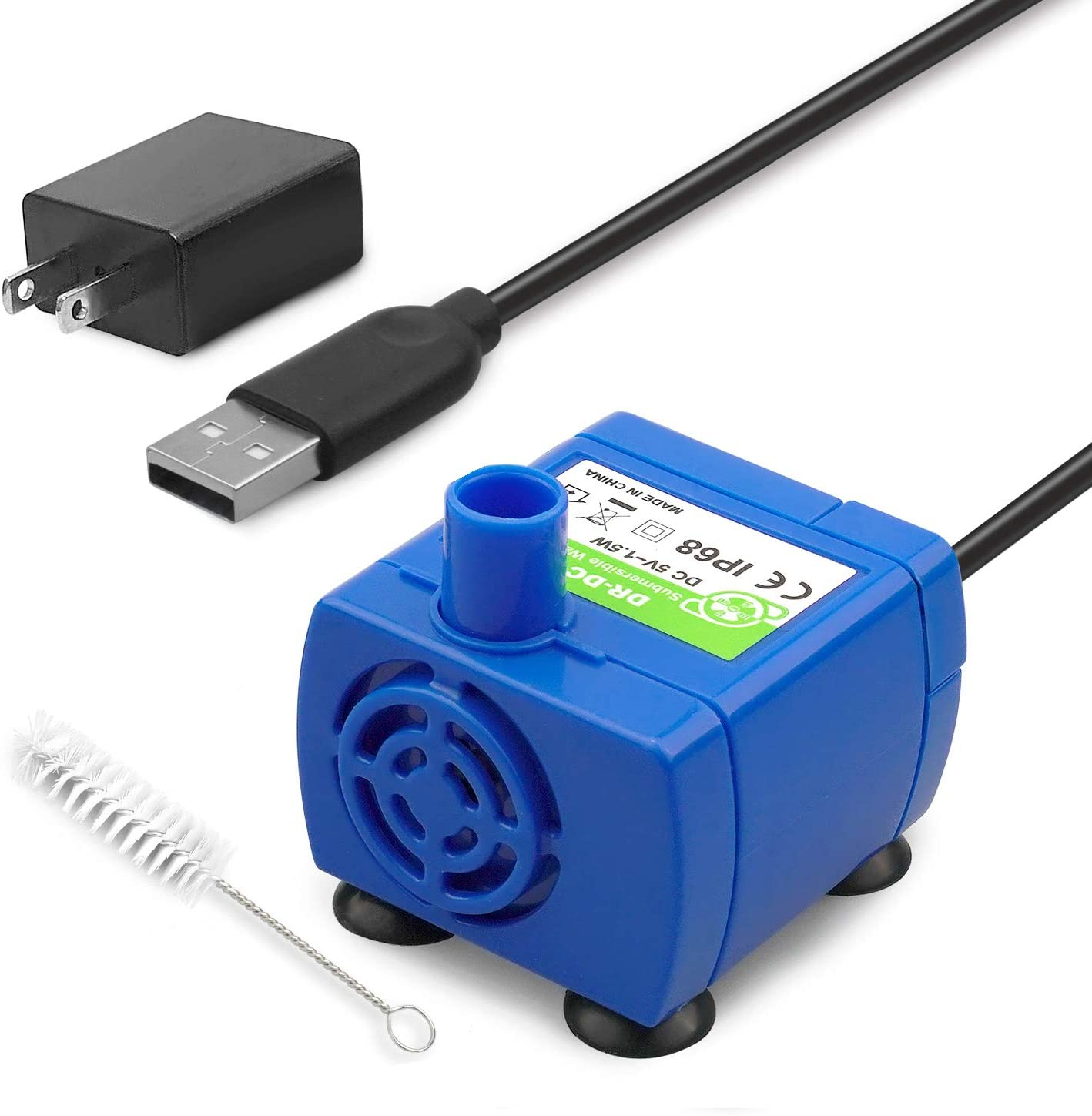 KutoraWorks cat A surprise price is New item realized Fountain Pump Replacement Cleaning Adaptor with