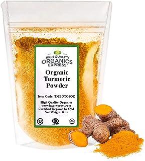 Sponsored Ad - HQOExpress |Turmeric Powder w/natural Curcumin | Certified USDA Organic | 8 oz. Bag