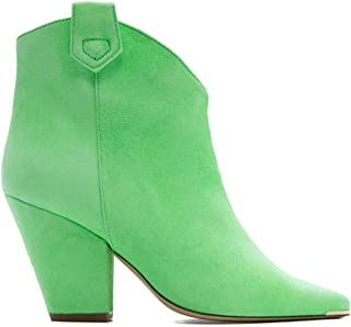 ALDO CASTAGNA Luxury Fashion Womens FEDE2VERDEFLUO Green Ankle Boots |