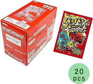 Pachi Pachi Panic Cola Taste 0.2oz 20pcs Box Japanese Dagashi Meiji NInjapo