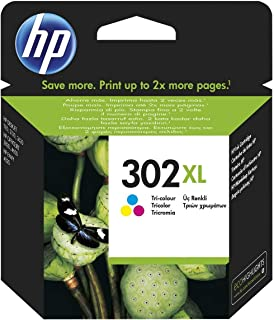 comprar comparacion HP F6U67AE 302XL Cartucho de Tinta Original de alto rendimiento, 1 unidad, tricolor (cian, magenta, amarillo)