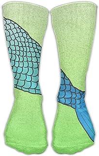 Mujeres Hombres Calcetines clásicos Hacer una cola de sirena Medias atléticas Calcetín largo Talla única 30 cm
