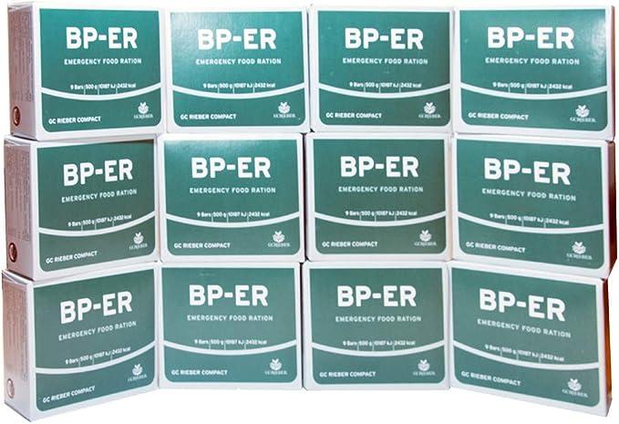 51 opinioni per Lebenskraft BP ER Elite Emergency Food 12 x 500 grammi del produttore leader