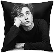 Standard Price Timothee Chalamet Pillow Cases Polyester Pillow Cover Pattern Decorative Washable for Sofa Home Decor 18 X 18