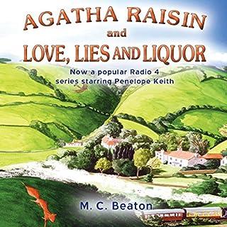 Agatha Raisin and Love, Lies and Liquor cover art