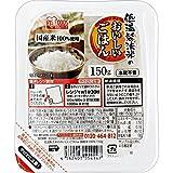 アイリスオーヤマ パック ごはん 国産米 100% 低温製法米のおいしいごはん 非常食 米 レトルト 150g×24個