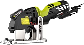Rockwell RK3440K Versacut 4.0 Amp Ultra-Compact Circular Saw with Laser Guide and 3-Blade..